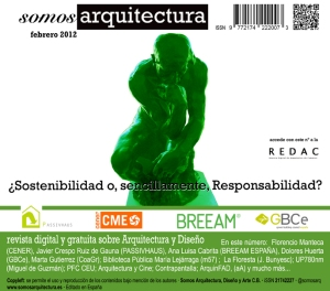 Nº3 Sobre sostenibiidad en las edificaciones. Nº3 On Sustainability in buildings.